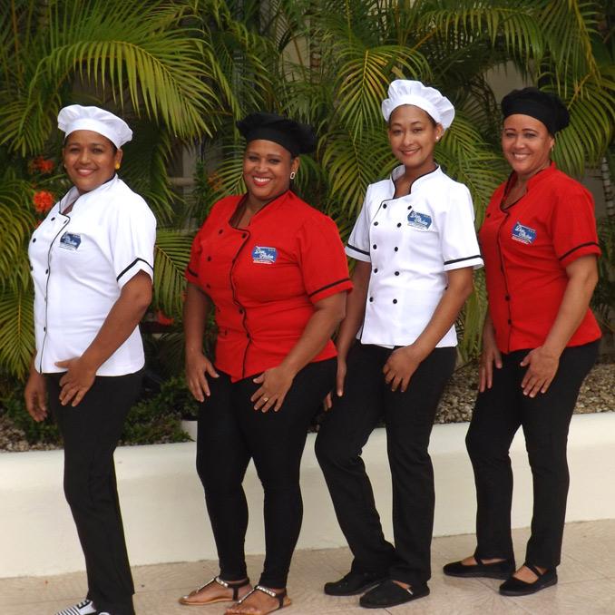 Our kitchen team