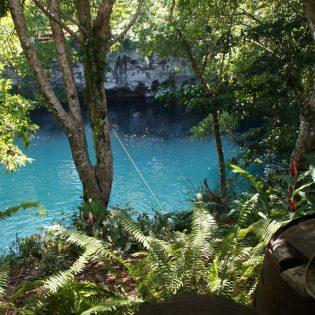 La laguna azul, Cabrera